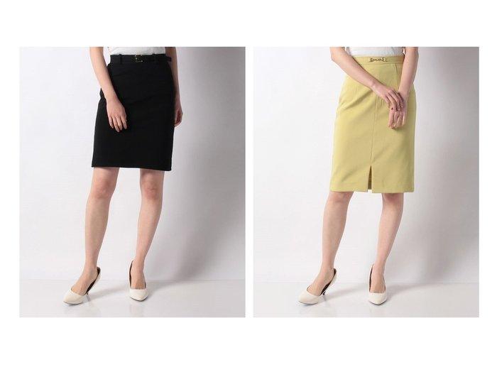 【salire/サリア】のミラノリブ風B付ステッチスカート&BIT付タイトスカート スカートのおすすめ!人気、トレンド・レディースファッションの通販 おすすめファッション通販アイテム レディースファッション・服の通販 founy(ファニー) ファッション Fashion レディースファッション WOMEN スカート Skirt NEW・新作・新着・新入荷 New Arrivals シンプル ストレッチ タイトスカート フィット フロント ミラノリブ |ID:crp329100000022488