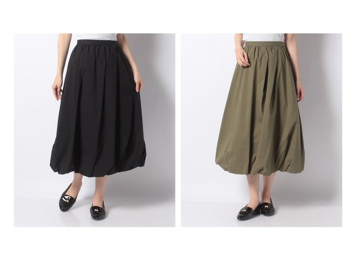 【en recre/アン レクレ】の【DONEE YU】バルーンスカ-ト スカートのおすすめ!人気、トレンド・レディースファッションの通販 おすすめファッション通販アイテム レディースファッション・服の通販 founy(ファニー) ファッション Fashion レディースファッション WOMEN スカート Skirt シンプル バルーン ロング |ID:crp329100000022506