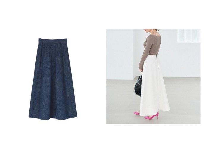 【ur's/ユアーズ】のハイウエストデニムロングスカート スカートのおすすめ!人気、トレンド・レディースファッションの通販 おすすめ人気トレンドファッション通販アイテム 人気、トレンドファッション・服の通販 founy(ファニー) ファッション Fashion レディースファッション WOMEN スカート Skirt Aライン/フレアスカート Flared A-Line Skirts ロングスカート Long Skirt デニム ロング 冬 Winter |ID:crp329100000022512