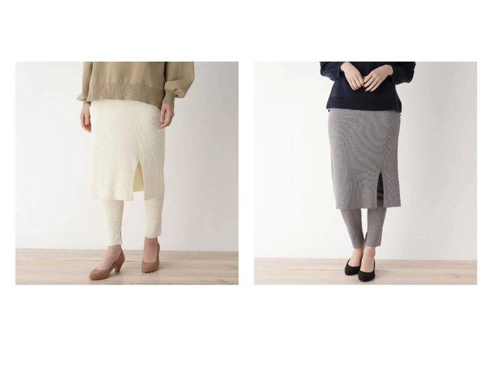 【pink adobe/ピンクアドベ】のストレッチリブレギンススカート スカートのおすすめ!人気、トレンド・レディースファッションの通販 おすすめファッション通販アイテム レディースファッション・服の通販 founy(ファニー) ファッション Fashion レディースファッション WOMEN スカート Skirt レギンス Leggings アクリル スウェット レギンス |ID:crp329100000022529