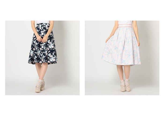 【LODISPOTTO/ロディスポット】のRoseGardenタックフレアスカート スカートのおすすめ!人気、トレンド・レディースファッションの通販 おすすめファッション通販アイテム レディースファッション・服の通販 founy(ファニー) ファッション Fashion レディースファッション WOMEN スカート Skirt Aライン/フレアスカート Flared A-Line Skirts 2021年 2021 2021-2022 秋冬 A/W AW Autumn/Winter / FW Fall-Winter 2021-2022 A/W 秋冬 AW Autumn/Winter / FW Fall-Winter フレア プリント |ID:crp329100000022532