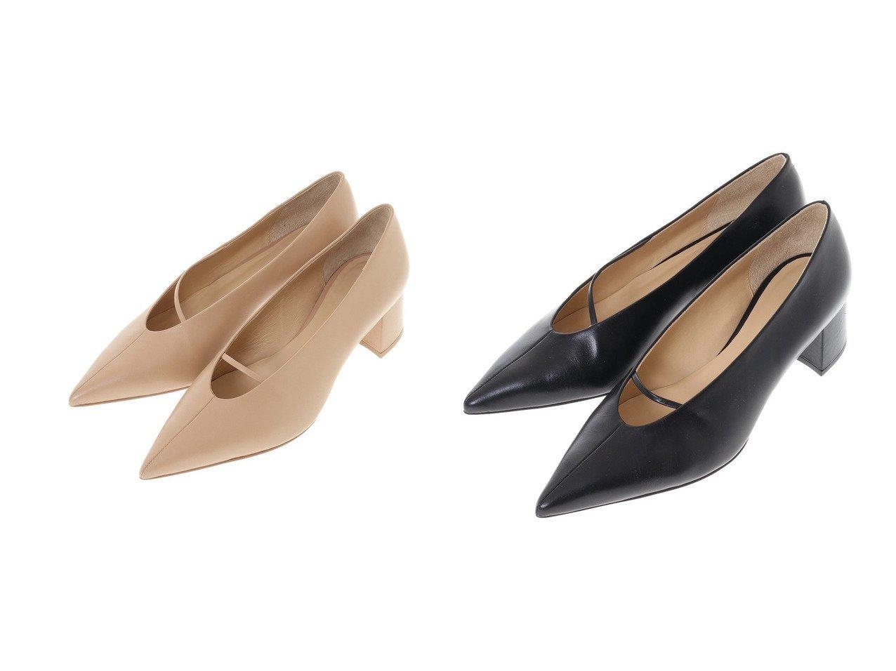【CLANE/クラネ】のLINE STRAP PUMPS シューズ・靴のおすすめ!人気、トレンド・レディースファッションの通販 おすすめで人気の流行・トレンド、ファッションの通販商品 メンズファッション・キッズファッション・インテリア・家具・レディースファッション・服の通販 founy(ファニー) https://founy.com/ ファッション Fashion レディースファッション WOMEN NEW・新作・新着・新入荷 New Arrivals クッション シューズ センター |ID:crp329100000022541