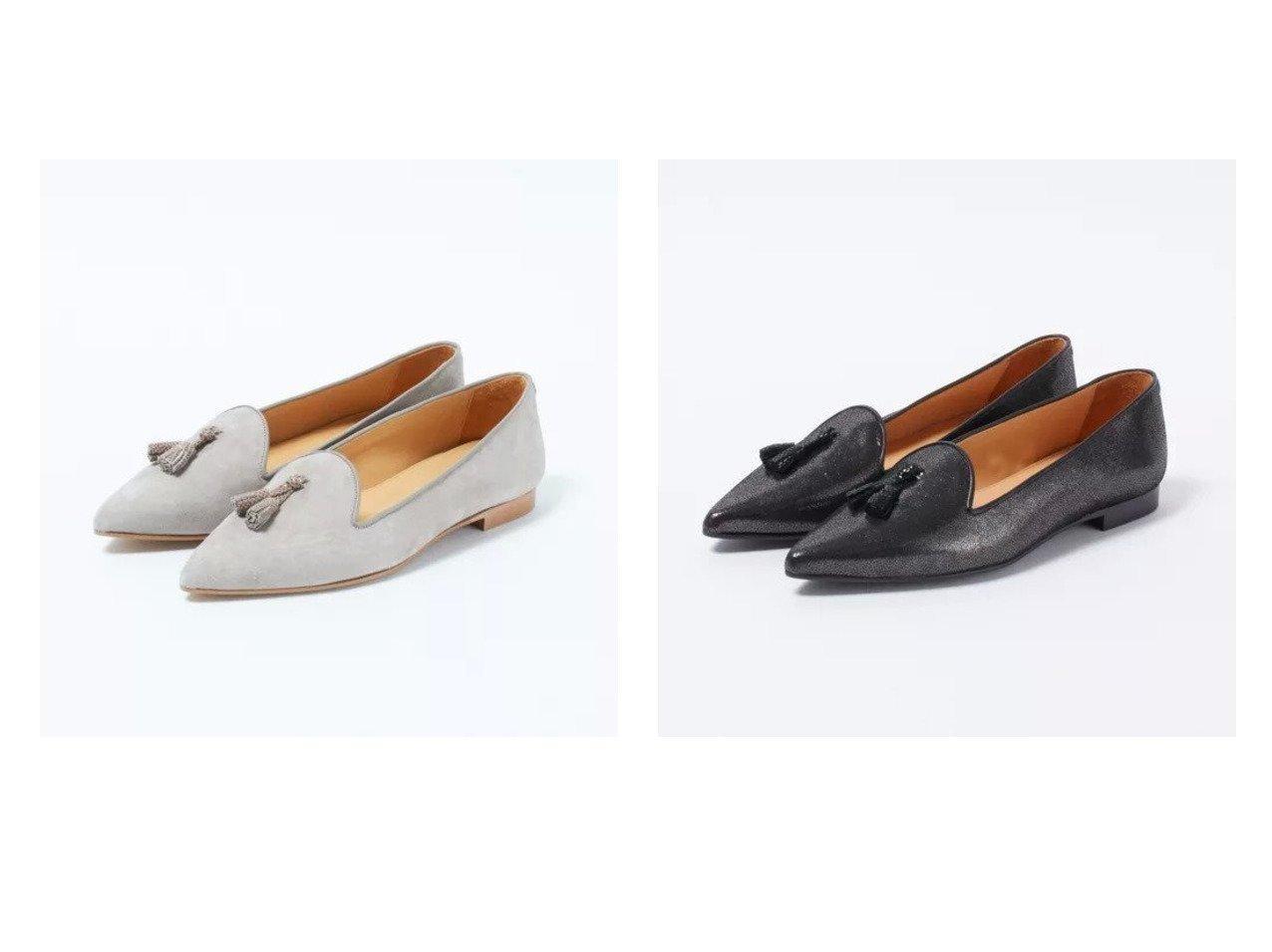 【CHATELLES/シャテル】のポインテッドトゥフラット(グレージュ)&ポインテッドトゥフラット(メタリックダークグレー) シューズ・靴のおすすめ!人気、トレンド・レディースファッションの通販 おすすめで人気の流行・トレンド、ファッションの通販商品 メンズファッション・キッズファッション・インテリア・家具・レディースファッション・服の通販 founy(ファニー) https://founy.com/ 雑誌掲載アイテム Magazine items ファッション雑誌 Fashion magazines エクラ eclat ファッション Fashion レディースファッション WOMEN コラボ 3月号 シューズ スエード 雑誌 バレエ パイピング フェミニン フラット 別注 メタリック |ID:crp329100000022547