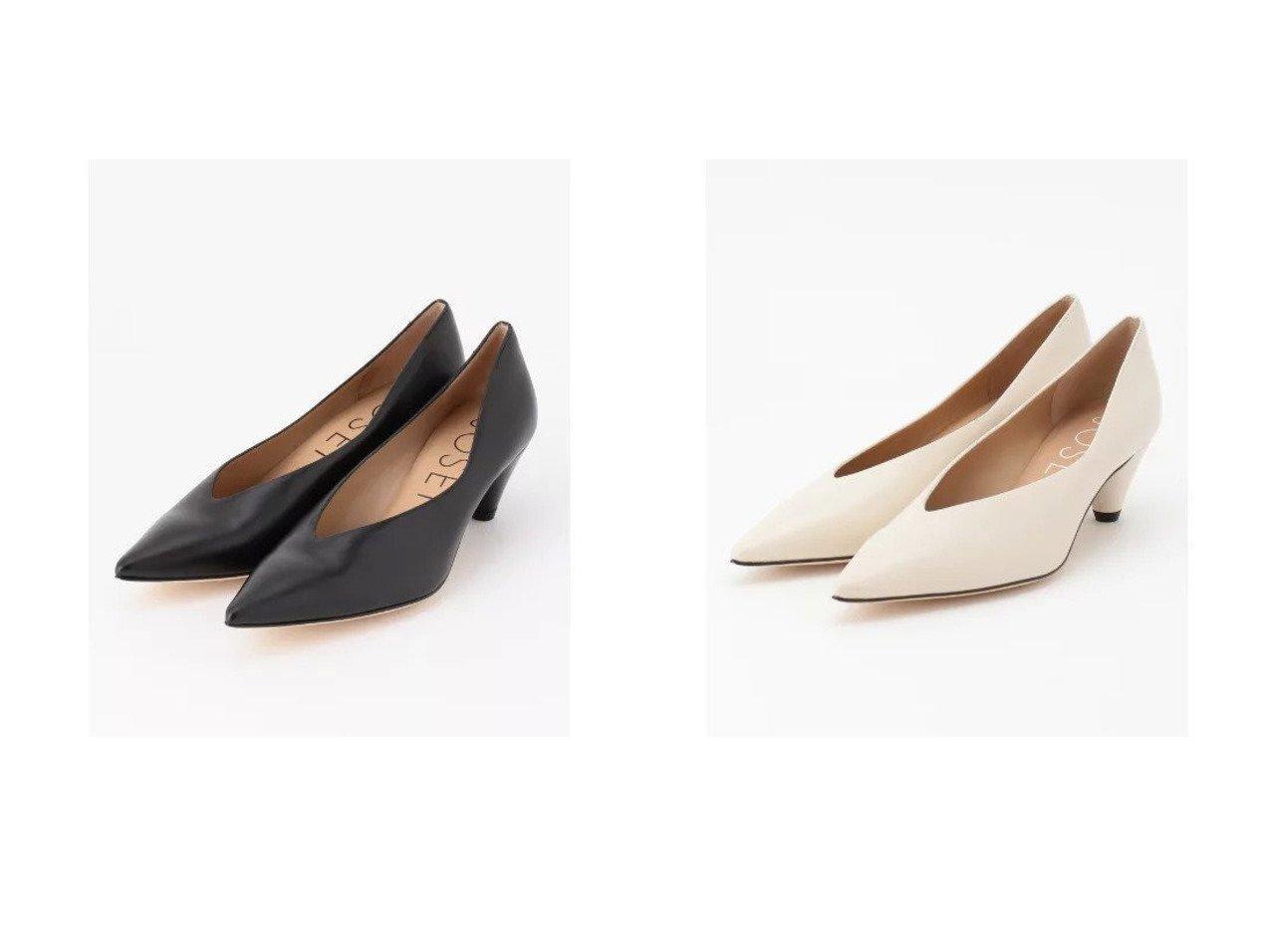 【JOSEPH/ジョゼフ】のコーンヒールパンプス シューズ・靴のおすすめ!人気、トレンド・レディースファッションの通販 おすすめで人気の流行・トレンド、ファッションの通販商品 メンズファッション・キッズファッション・インテリア・家具・レディースファッション・服の通販 founy(ファニー) https://founy.com/ ファッション Fashion レディースファッション WOMEN シューズ |ID:crp329100000022549