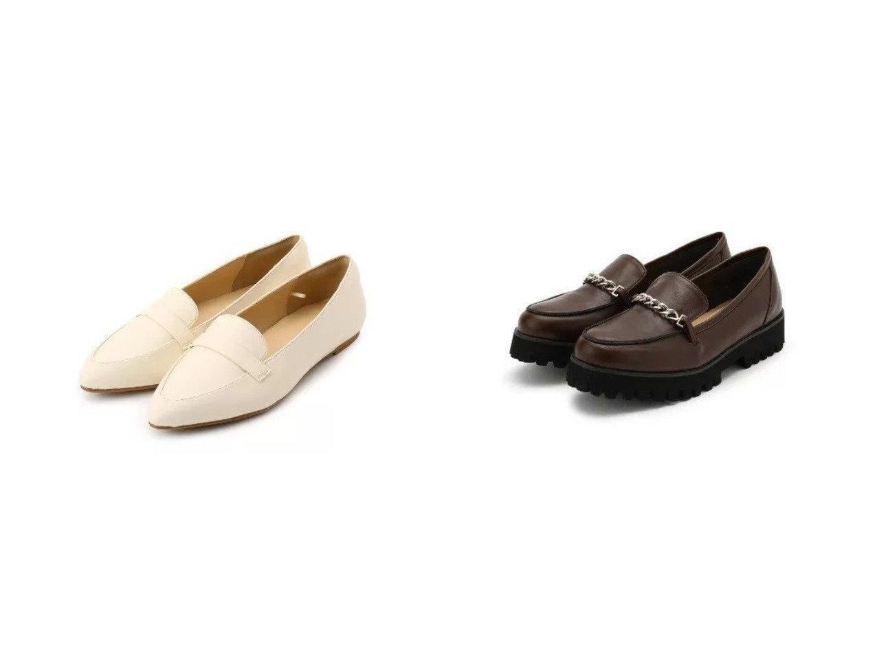 【SHOO LA RUE / DRESKIP/シューラルー ドレスキップ】の【中敷き制菌・防臭】ア-モンドトウフラット&厚底チェ-ンロ-ファ- シューズ・靴のおすすめ!人気、トレンド・レディースファッションの通販 おすすめで人気の流行・トレンド、ファッションの通販商品 メンズファッション・キッズファッション・インテリア・家具・レディースファッション・服の通販 founy(ファニー) https://founy.com/ ファッション Fashion レディースファッション WOMEN アーモンドトゥ インソール クラシカル シューズ スタイリッシュ フラット クール チェーン メタル 厚底 |ID:crp329100000022553