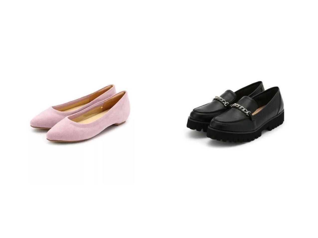 【SHOO LA RUE / DRESKIP/シューラルー ドレスキップ】の厚底チェ-ンロ-ファ-&【撥水加工】2cmインヒ-ルドレスキップス シューズ・靴のおすすめ!人気、トレンド・レディースファッションの通販 おすすめで人気の流行・トレンド、ファッションの通販商品 メンズファッション・キッズファッション・インテリア・家具・レディースファッション・服の通販 founy(ファニー) https://founy.com/ ファッション Fashion レディースファッション WOMEN クッション シューズ フィット フォーム メッシュ クール チェーン メタル 厚底 |ID:crp329100000022554