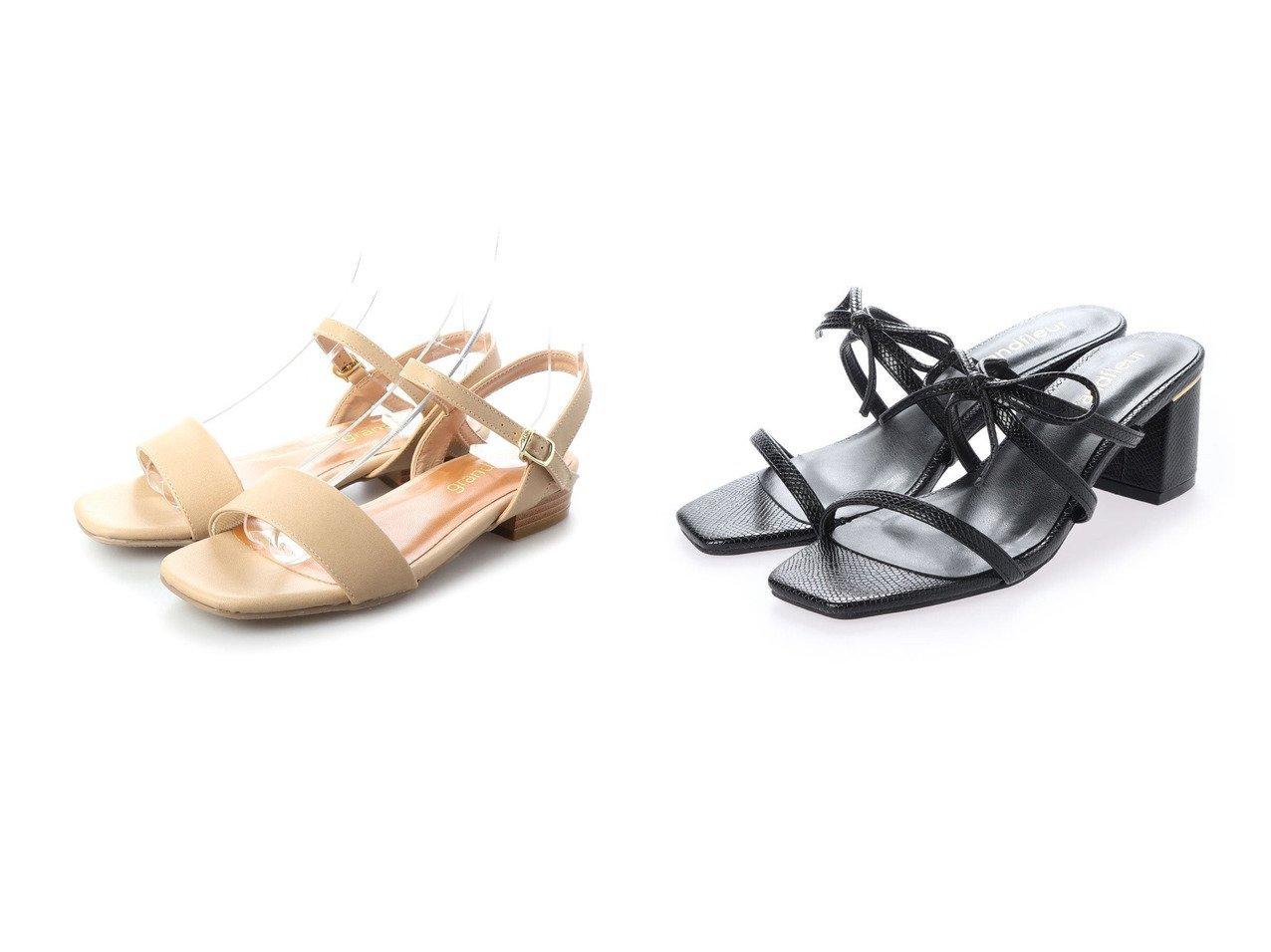 【grandfleur/グランドフルール】のスクエアトゥローヒールサンダル&スクエアトゥの華奢リボン付きヒールキャップサンダル シューズ・靴のおすすめ!人気、トレンド・レディースファッションの通販 おすすめで人気の流行・トレンド、ファッションの通販商品 メンズファッション・キッズファッション・インテリア・家具・レディースファッション・服の通販 founy(ファニー) https://founy.com/ ファッション Fashion レディースファッション WOMEN 2020年 2020 2020 春夏 S/S SS Spring/Summer 2020 S/S 春夏 SS Spring/Summer クール フィット ベーシック 春 Spring |ID:crp329100000022557