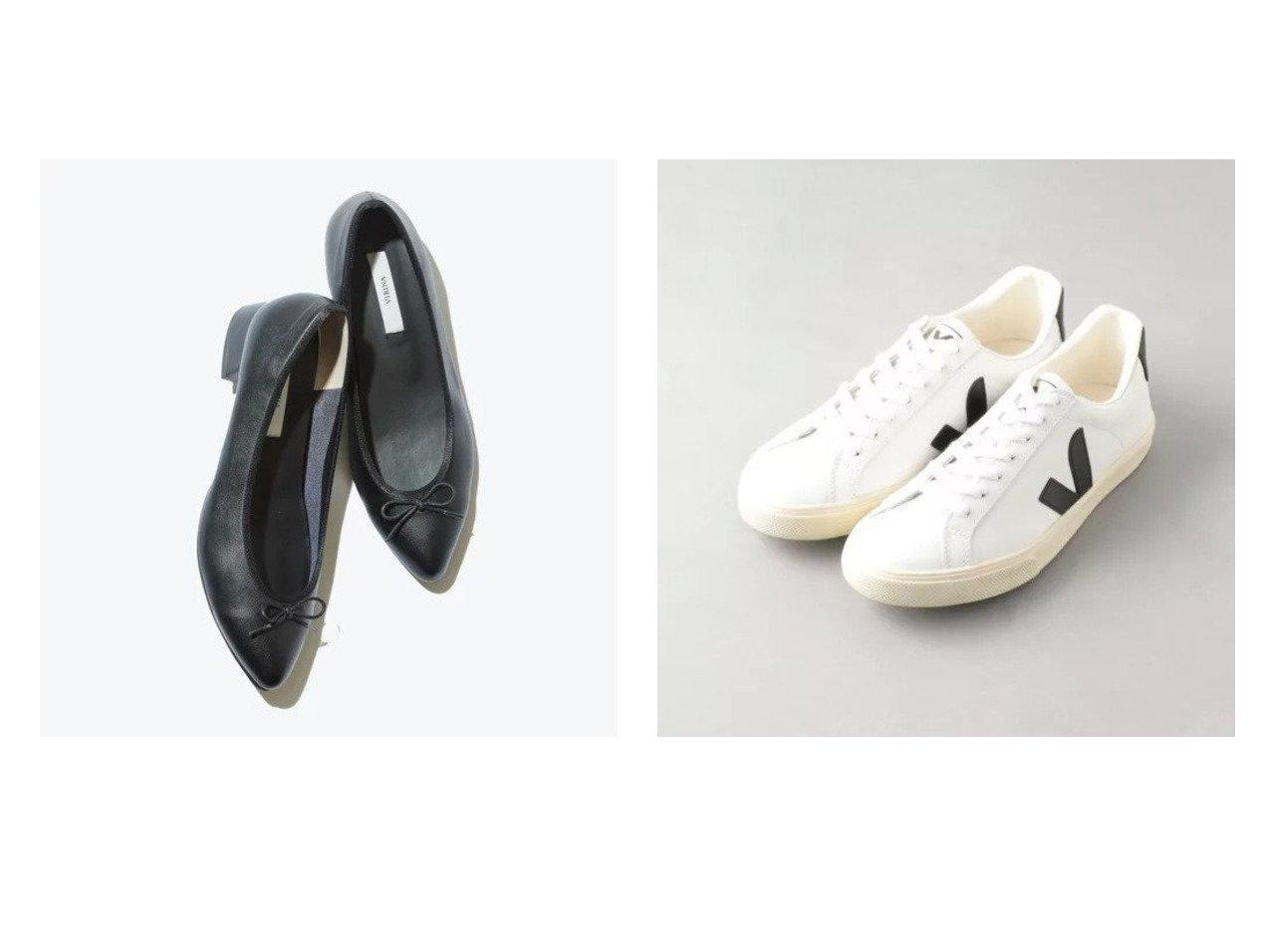 【VIRINA/ヴィリーナ】のポインテッドバレエヒールシューズ&【Odette e Odile/オデット エ オディール】のVEJA ESPLAR シューズ・靴のおすすめ!人気、トレンド・レディースファッションの通販 おすすめで人気の流行・トレンド、ファッションの通販商品 メンズファッション・キッズファッション・インテリア・家具・レディースファッション・服の通販 founy(ファニー) https://founy.com/ ファッション Fashion レディースファッション WOMEN インソール インナー クッション 抗菌 サテン シューズ ストレッチ バランス バレエ フィット フェミニン フォルム リボン おすすめ Recommend シンプル スニーカー モダン モノトーン |ID:crp329100000022561