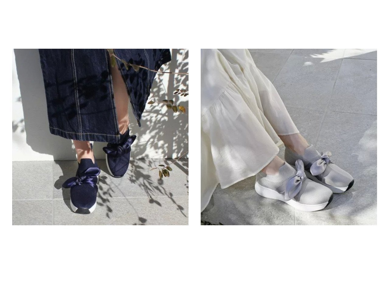 【enchanted/エンチャンテッド】の軽量メッシュサテンリボンスニーカー シューズ・靴のおすすめ!人気、トレンド・レディースファッションの通販 おすすめで人気の流行・トレンド、ファッションの通販商品 メンズファッション・キッズファッション・インテリア・家具・レディースファッション・服の通販 founy(ファニー) https://founy.com/ ファッション Fashion レディースファッション WOMEN サテン シューズ スニーカー バランス メッシュ リボン 軽量 |ID:crp329100000022565