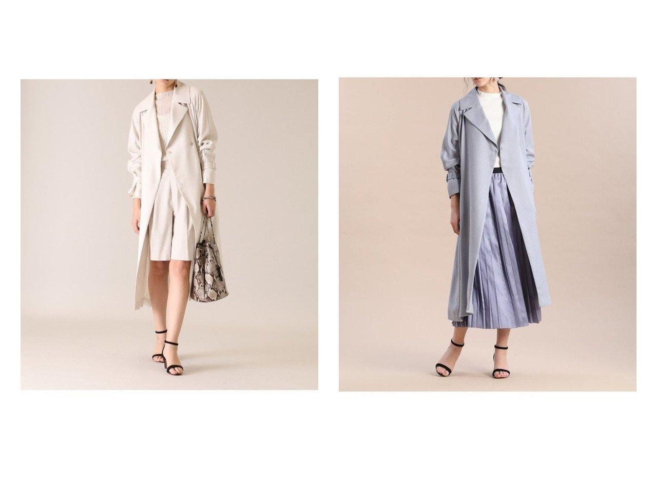 【INED/イネド】のリネンライクラグランコート アウターのおすすめ!人気、トレンド・レディースファッションの通販 おすすめで人気の流行・トレンド、ファッションの通販商品 メンズファッション・キッズファッション・インテリア・家具・レディースファッション・服の通販 founy(ファニー) https://founy.com/ ファッション Fashion レディースファッション WOMEN アウター Coat Outerwear コート Coats ジャケット Jackets ジャケット フロント ポケット ロング |ID:crp329100000022648