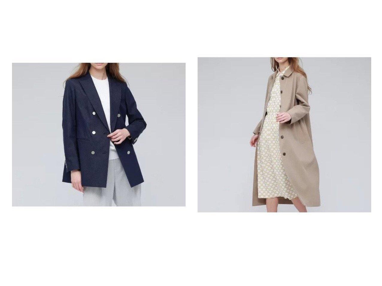 【MACKINTOSH LONDON/マッキントッシュ ロンドン】のコットンストレッチデニムジャケット&サマーコットンウールロングコート アウターのおすすめ!人気、トレンド・レディースファッションの通販 おすすめで人気の流行・トレンド、ファッションの通販商品 メンズファッション・キッズファッション・インテリア・家具・レディースファッション・服の通販 founy(ファニー) https://founy.com/ ファッション Fashion レディースファッション WOMEN アウター Coat Outerwear コート Coats ジャケット Jackets デニムジャケット Denim Jackets ウォッシャブル メタル ショルダー シンプル ドロップ ハンド フランス リラックス |ID:crp329100000022650
