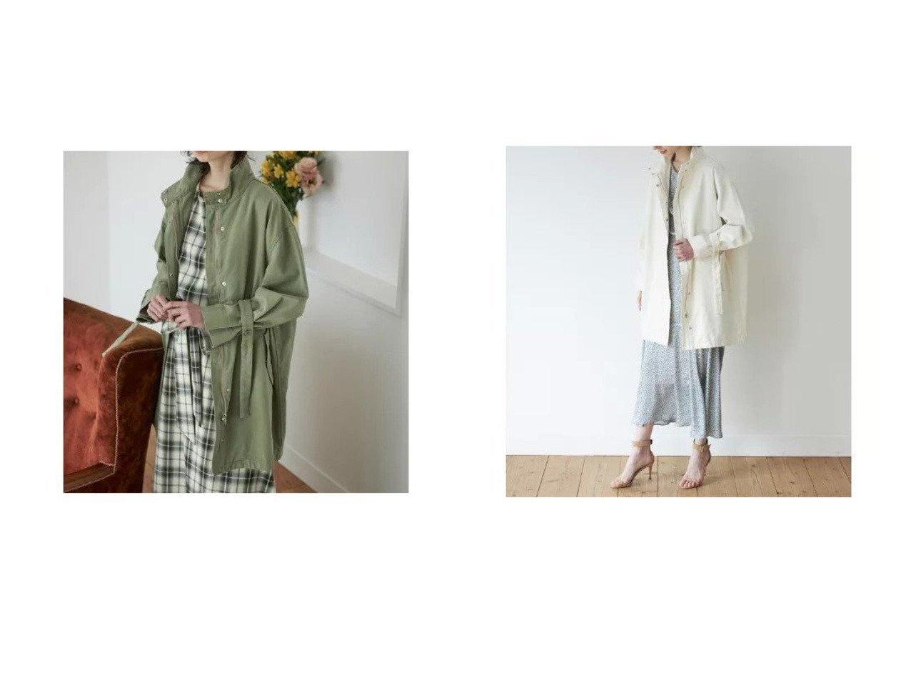 【CLEAR IMPRESSION/クリアインプレッション】の《musee》ミリタリーコート アウターのおすすめ!人気、トレンド・レディースファッションの通販 おすすめで人気の流行・トレンド、ファッションの通販商品 メンズファッション・キッズファッション・インテリア・家具・レディースファッション・服の通販 founy(ファニー) https://founy.com/ ファッション Fashion レディースファッション WOMEN アウター Coat Outerwear コート Coats スリーブ バランス ミリタリー ユーズド ワイド |ID:crp329100000022654