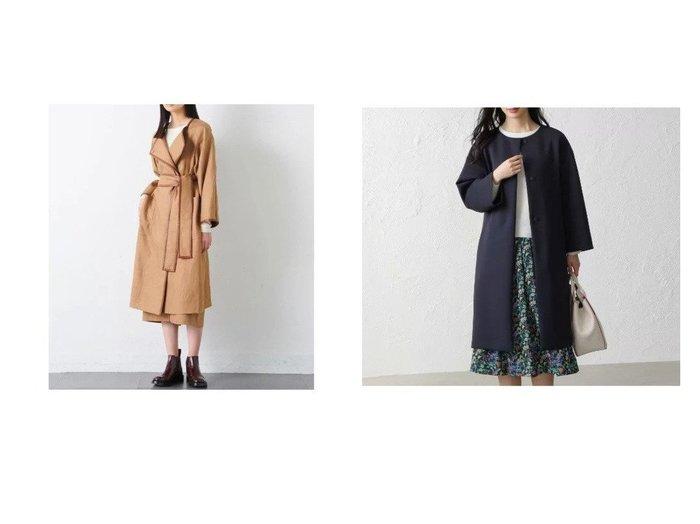 【AMACA/アマカ】のトリアセテートダンボールコート&【JOSEPH/ジョゼフ】の【JOSEPH STUDIO】カンヌ ライトコート アウターのおすすめ!人気、トレンド・レディースファッションの通販 おすすめファッション通販アイテム レディースファッション・服の通販 founy(ファニー) ファッション Fashion レディースファッション WOMEN アウター Coat Outerwear コート Coats ジャケット Jackets インナー 春 Spring クラシック ジャケット スクエア セットアップ タートルネック トリミング ドレス パイピング パッチ フェイクレザー ポケット モダン リアル リネン リブニット ロング ストレッチ |ID:crp329100000022661