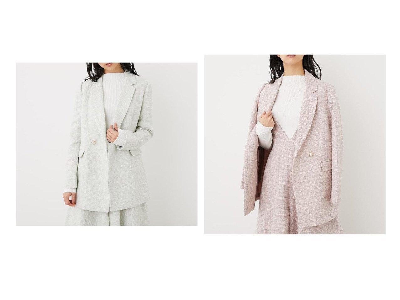 【rienda/リエンダ】のツイードテーラードJK アウターのおすすめ!人気、トレンド・レディースファッションの通販 おすすめで人気の流行・トレンド、ファッションの通販商品 メンズファッション・キッズファッション・インテリア・家具・レディースファッション・服の通販 founy(ファニー) https://founy.com/ ファッション Fashion レディースファッション WOMEN アウター Coat Outerwear ジャケット Jackets NEW・新作・新着・新入荷 New Arrivals オケージョン ジャケット ツイード テーラード パール |ID:crp329100000022679