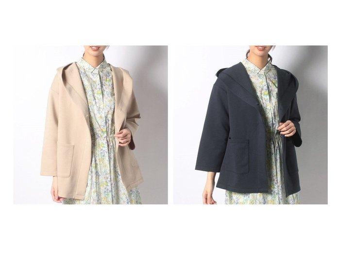 【Afternoon Tea LIVING/アフタヌーンティー リビング】のポンチミドルフーディー アウターのおすすめ!人気、トレンド・レディースファッションの通販 おすすめファッション通販アイテム レディースファッション・服の通販 founy(ファニー) ファッション Fashion レディースファッション WOMEN アウター Coat Outerwear コート Coats NEW・新作・新着・新入荷 New Arrivals |ID:crp329100000022682
