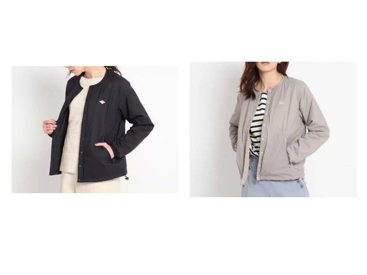 【Dessin/デッサン】のDANTON 中綿インナージャケット アウターのおすすめ!人気、トレンド・レディースファッションの通販 おすすめで人気の流行・トレンド、ファッションの通販商品 メンズファッション・キッズファッション・インテリア・家具・レディースファッション・服の通販 founy(ファニー) https://founy.com/ ファッション Fashion レディースファッション WOMEN アウター Coat Outerwear ジャケット Jackets インナー コンパクト ジャケット ストレッチ ポケット  ID:crp329100000022705