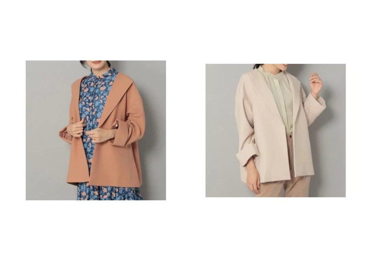 【Elura/エルーラ】のカラーレスショートコート アウターのおすすめ!人気、トレンド・レディースファッションの通販 おすすめで人気の流行・トレンド、ファッションの通販商品 メンズファッション・キッズファッション・インテリア・家具・レディースファッション・服の通販 founy(ファニー) https://founy.com/ ファッション Fashion レディースファッション WOMEN アウター Coat Outerwear コート Coats ジャケット Jackets おすすめ Recommend ショルダー ショート シンプル ジャケット ダブル ドロップ バランス パターン マキシ ロング  ID:crp329100000022710
