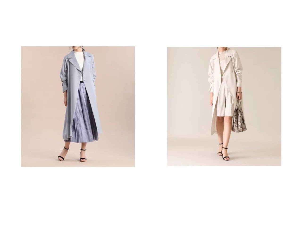 【INED/イネド】のリネンライクラグランコート アウターのおすすめ!人気、トレンド・レディースファッションの通販 おすすめで人気の流行・トレンド、ファッションの通販商品 メンズファッション・キッズファッション・インテリア・家具・レディースファッション・服の通販 founy(ファニー) https://founy.com/ ファッション Fashion レディースファッション WOMEN アウター Coat Outerwear コート Coats フロント ポケット ロング  ID:crp329100000022711