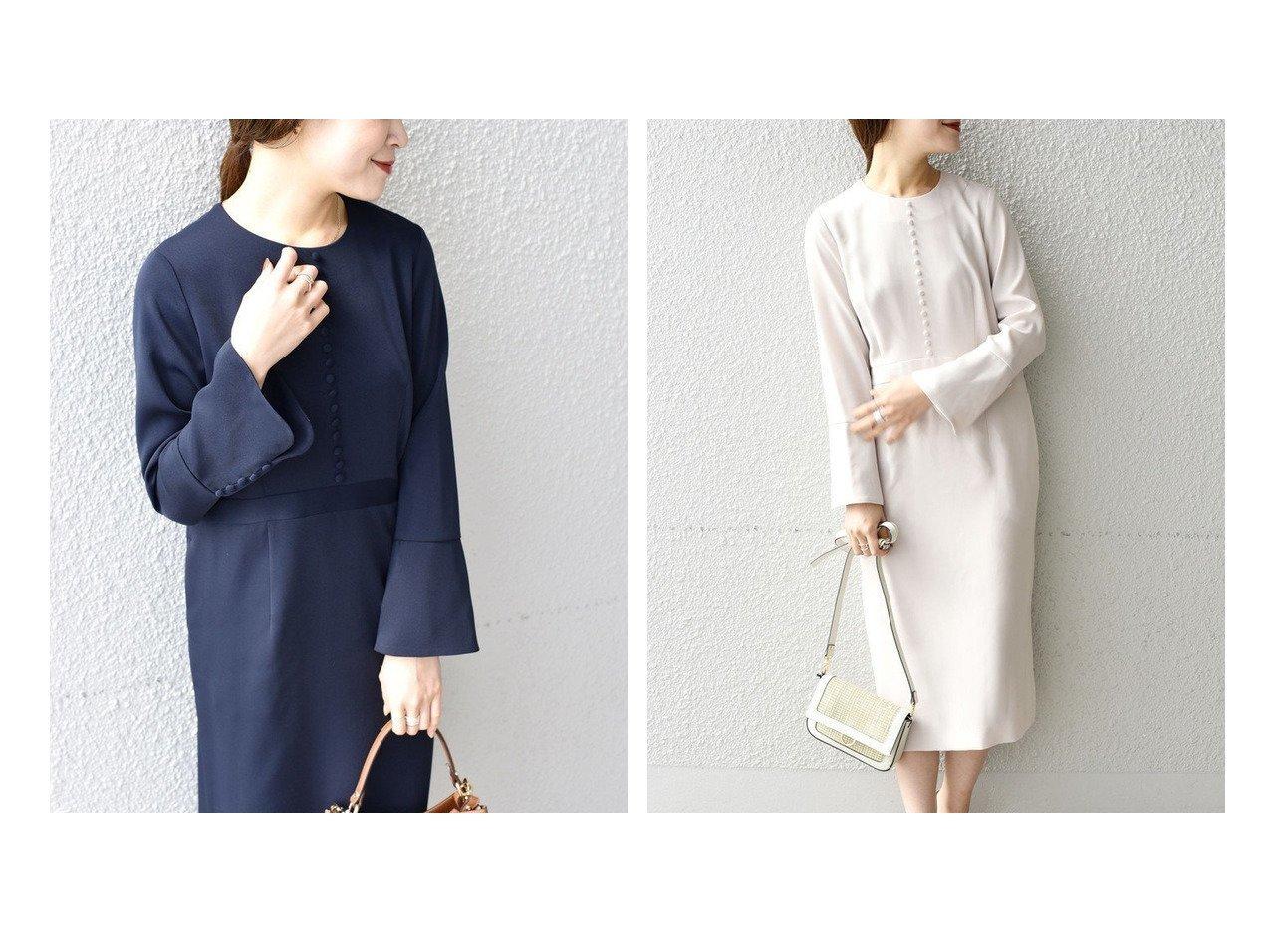 【SHIPS/シップス フォー ウィメン】のlittle black フロントボタンフレアスリーブワンピース ワンピース・ドレスのおすすめ!人気、トレンド・レディースファッションの通販 おすすめで人気の流行・トレンド、ファッションの通販商品 メンズファッション・キッズファッション・インテリア・家具・レディースファッション・服の通販 founy(ファニー) https://founy.com/ ファッション Fashion レディースファッション WOMEN ワンピース Dress アクセサリー ジャケット トレンド フロント |ID:crp329100000022724
