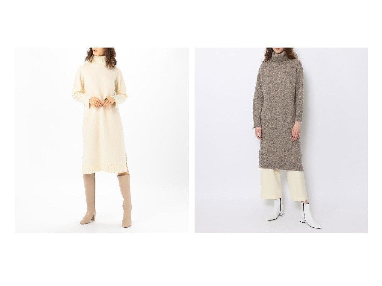 【TOMORROWLAND MACPHEE/トゥモローランド マカフィー】のウールカシミヤ タートルネックワンピース ワンピース・ドレスのおすすめ!人気、トレンド・レディースファッションの通販 おすすめで人気の流行・トレンド、ファッションの通販商品 メンズファッション・キッズファッション・インテリア・家具・レディースファッション・服の通販 founy(ファニー) https://founy.com/ ファッション Fashion レディースファッション WOMEN ワンピース Dress A/W 秋冬 AW Autumn/Winter / FW Fall-Winter おすすめ Recommend カシミヤ スリット タートルネック リラックス ワイド 人気 今季 定番 Standard |ID:crp329100000022727