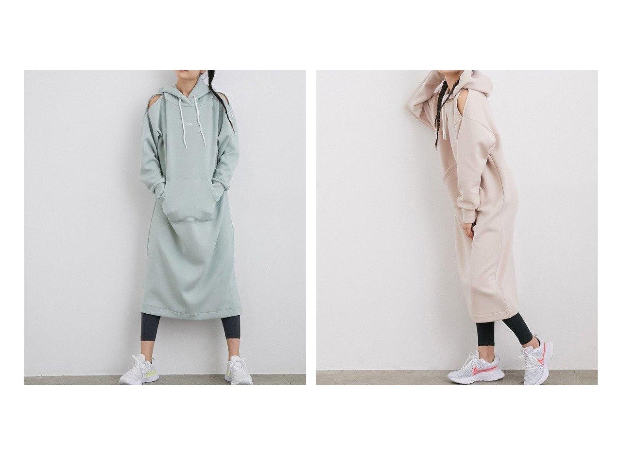 【NERGY/ナージー】の【Active Puff】UV ショルダースラッシュワンピース ワンピース・ドレスのおすすめ!人気、トレンド・レディースファッションの通販  おすすめで人気の流行・トレンド、ファッションの通販商品 メンズファッション・キッズファッション・インテリア・家具・レディースファッション・服の通販 founy(ファニー) https://founy.com/ ファッション Fashion レディースファッション WOMEN ワンピース Dress NEW・新作・新着・新入荷 New Arrivals ジップ |ID:crp329100000022744