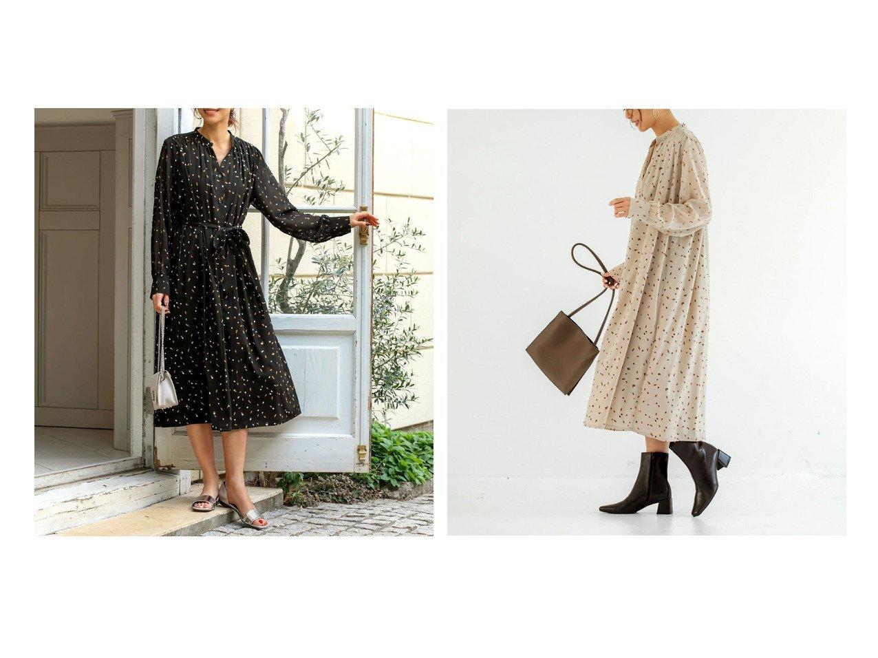 【STYLE DELI/スタイルデリ】の【LUXE】とばしペイント柄ギャザーワンピース ワンピース・ドレスのおすすめ!人気、トレンド・レディースファッションの通販  おすすめで人気の流行・トレンド、ファッションの通販商品 メンズファッション・キッズファッション・インテリア・家具・レディースファッション・服の通販 founy(ファニー) https://founy.com/ ファッション Fashion レディースファッション WOMEN ワンピース Dress エアリー カフス ギャザー サンダル シフォン ジャケット スニーカー スリム フォルム フロント プリント ペチコート ポケット ミモレ 無地 ヨーク リボン リラックス |ID:crp329100000022754