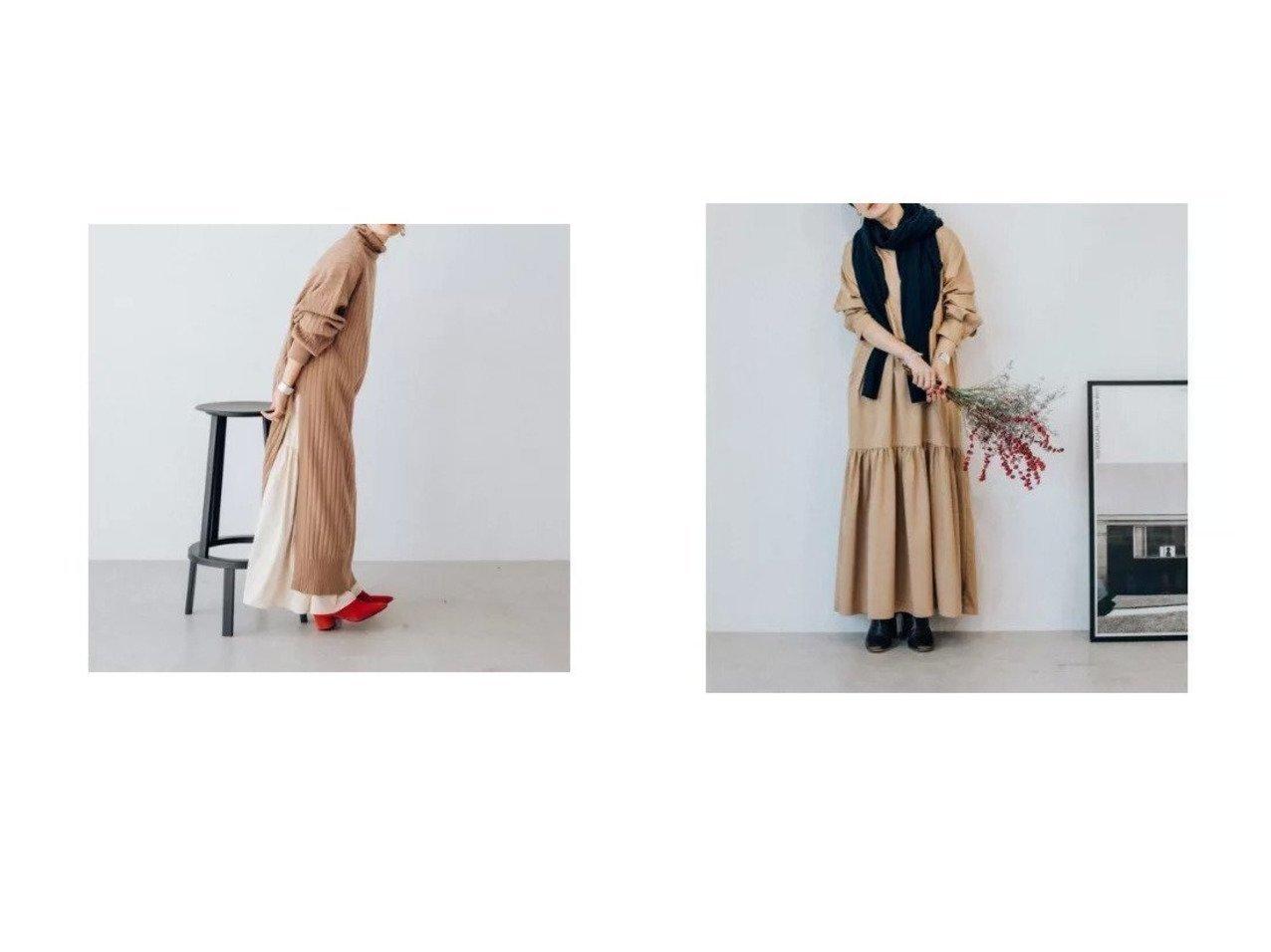 【Oblekt/オブレクト】のヘムギャザーワンピース&リブタートルスリットワンピース ワンピース・ドレスのおすすめ!人気、トレンド・レディースファッションの通販  おすすめで人気の流行・トレンド、ファッションの通販商品 メンズファッション・キッズファッション・インテリア・家具・レディースファッション・服の通販 founy(ファニー) https://founy.com/ ファッション Fashion レディースファッション WOMEN ワンピース Dress ニットワンピース Knit Dresses おすすめ Recommend スリット デニム 長袖 |ID:crp329100000022764