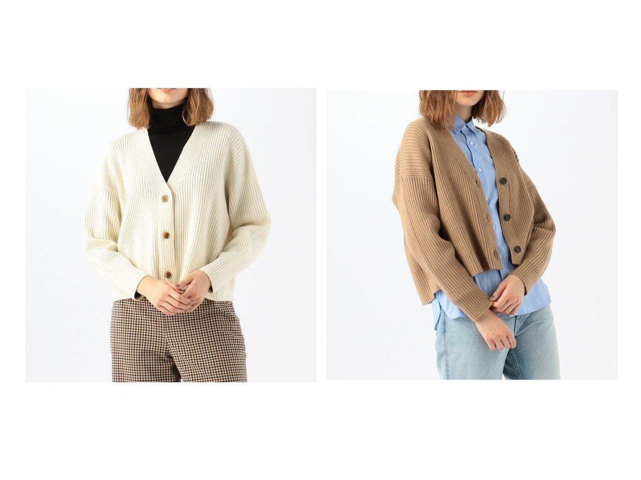 【TOMORROWLAND MACPHEE/トゥモローランド マカフィー】のウールリブ Vネックカーディガン トップス・カットソーのおすすめ!人気!プチプライスで上品なファッションアイテムの通販 おすすめで人気の流行・トレンド、ファッションの通販商品 メンズファッション・キッズファッション・インテリア・家具・レディースファッション・服の通販 founy(ファニー) https://founy.com/ ファッション Fashion レディースファッション WOMEN トップス カットソー Tops Tshirt カーディガン Cardigans Vネック V-Neck 2020年 2020 2020-2021 秋冬 A/W AW Autumn/Winter / FW Fall-Winter 2020-2021 A/W 秋冬 AW Autumn/Winter / FW Fall-Winter カーディガン スリーブ バランス フィット ベーシック |ID:crp329100000022812