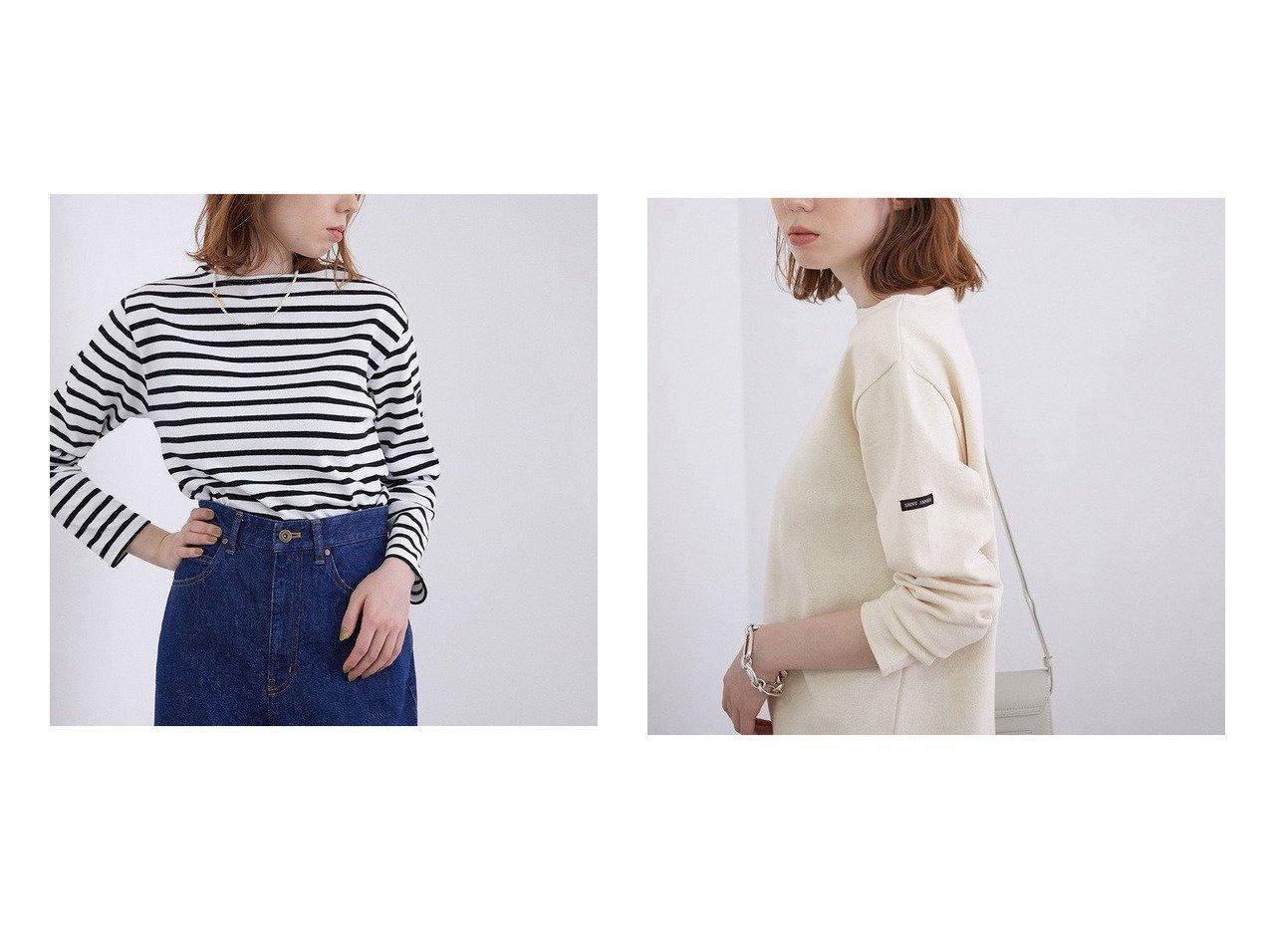 【ROPE' mademoiselle/ロペ マドモアゼル】の【Saint James】ボートネックウェッソンバスクシャツ トップス・カットソーのおすすめ!人気、トレンド・レディースファッションの通販 おすすめで人気の流行・トレンド、ファッションの通販商品 メンズファッション・キッズファッション・インテリア・家具・レディースファッション・服の通販 founy(ファニー) https://founy.com/ ファッション Fashion レディースファッション WOMEN トップス カットソー Tops Tshirt シャツ/ブラウス Shirts Blouses ロング / Tシャツ T-Shirts カットソー Cut and Sewn カットソー セーター 定番 Standard フランス 2021年 2021 再入荷 Restock/Back in Stock/Re Arrival S/S 春夏 SS Spring/Summer 2021 春夏 S/S SS Spring/Summer 2021 |ID:crp329100000022858