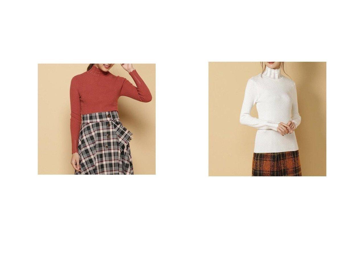 【And Couture/アンドクチュール】のスカラハイネックプルオーバー トップス・カットソーのおすすめ!人気、トレンド・レディースファッションの通販 おすすめで人気の流行・トレンド、ファッションの通販商品 メンズファッション・キッズファッション・インテリア・家具・レディースファッション・服の通販 founy(ファニー) https://founy.com/ ファッション Fashion レディースファッション WOMEN トップス カットソー Tops Tshirt ニット Knit Tops プルオーバー Pullover セーター ハイネック 再入荷 Restock/Back in Stock/Re Arrival  ID:crp329100000022948