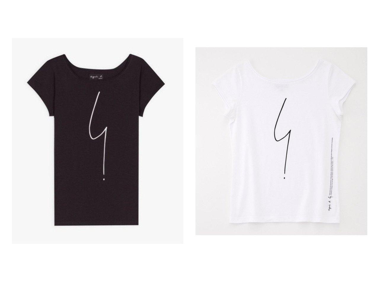 【agnes b. FEMME/アニエスベー ファム】のSE30 TS Tシャツ トップス・カットソーのおすすめ!人気、トレンド・レディースファッションの通販 おすすめで人気の流行・トレンド、ファッションの通販商品 メンズファッション・キッズファッション・インテリア・家具・レディースファッション・服の通販 founy(ファニー) https://founy.com/ ファッション Fashion レディースファッション WOMEN トップス カットソー Tops Tshirt シャツ/ブラウス Shirts Blouses ロング / Tシャツ T-Shirts カットソー Cut and Sewn カットソー フランス プリント 半袖  ID:crp329100000022955