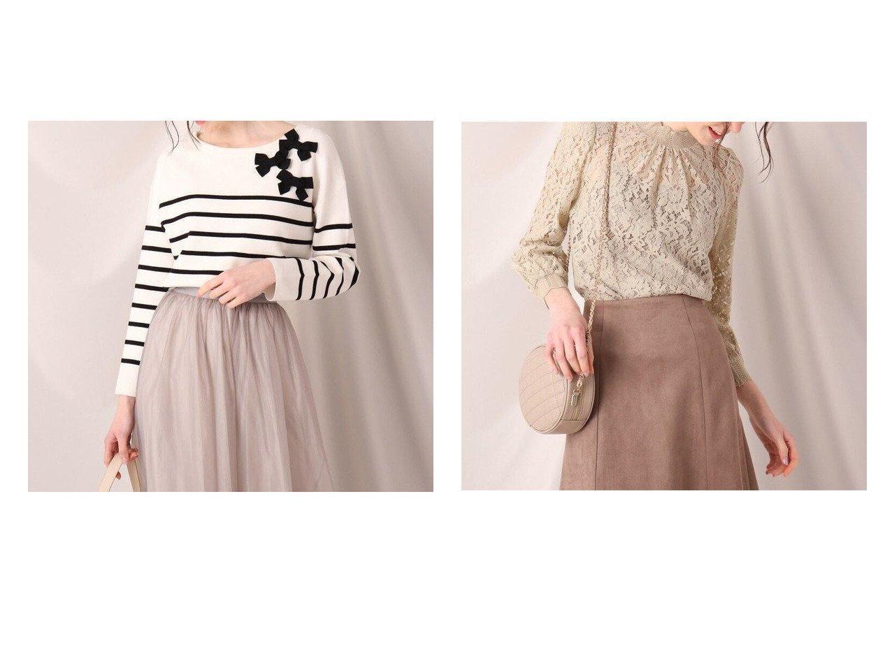 【Couture Brooch/クチュール ブローチ】のミラノリブボーダーニット&フラワーレースクロシェブラウス トップス・カットソーのおすすめ!人気、トレンド・レディースファッションの通販 おすすめで人気の流行・トレンド、ファッションの通販商品 メンズファッション・キッズファッション・インテリア・家具・レディースファッション・服の通販 founy(ファニー) https://founy.com/ ファッション Fashion レディースファッション WOMEN トップス カットソー Tops Tshirt ニット Knit Tops シャツ/ブラウス Shirts Blouses NEW・新作・新着・新入荷 New Arrivals インナー セーター チュニック ブローチ ボーダー ミラノリブ おすすめ Recommend カフス キャミソール サテン センター レース 透かし |ID:crp329100000022982