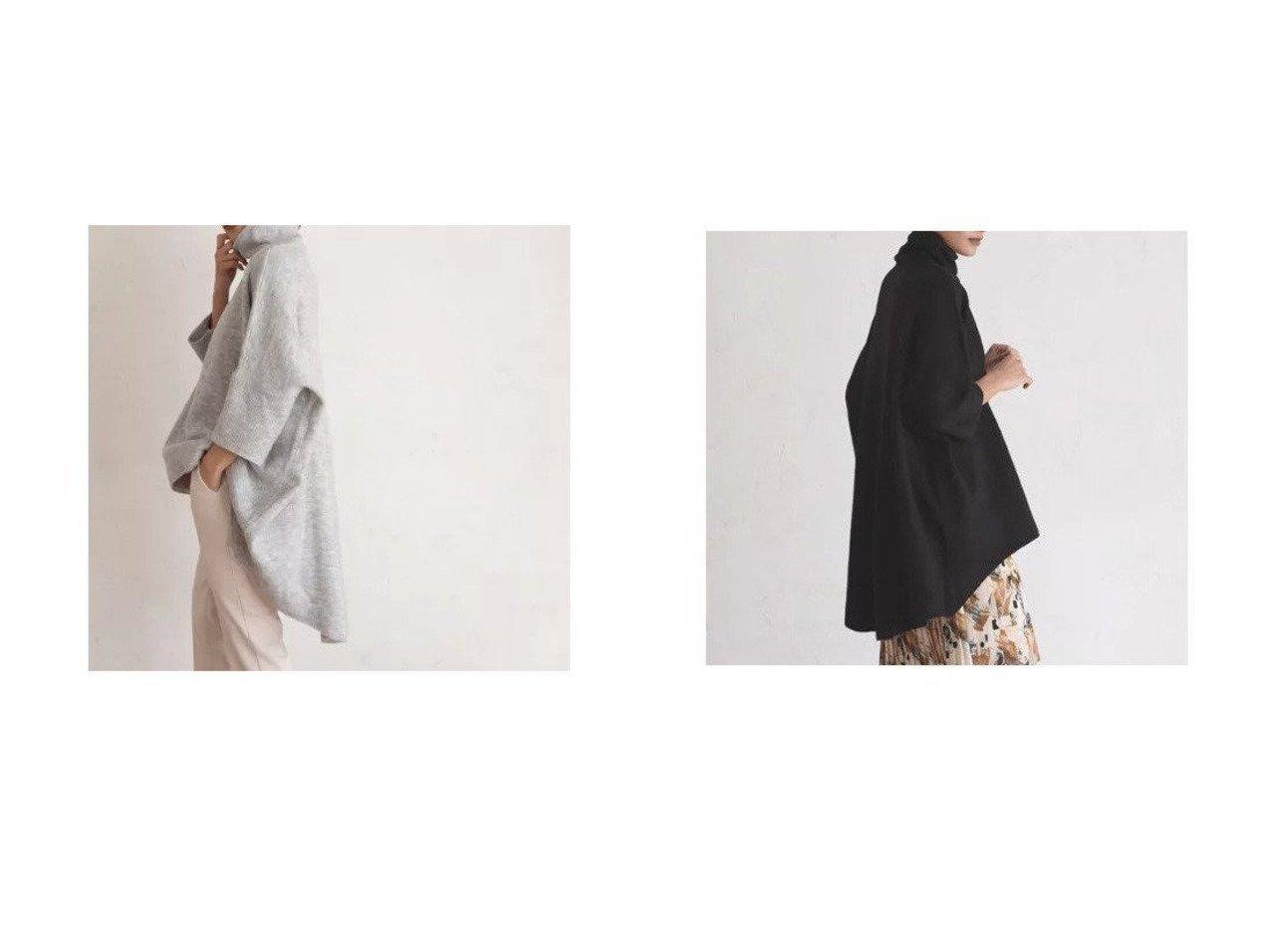 【marjour/マージュール】のHIGHNECK PONCHO KNIT トップス・カットソーのおすすめ!人気、トレンド・レディースファッションの通販 おすすめで人気の流行・トレンド、ファッションの通販商品 メンズファッション・キッズファッション・インテリア・家具・レディースファッション・服の通販 founy(ファニー) https://founy.com/ ファッション Fashion レディースファッション WOMEN トップス カットソー Tops Tshirt ニット Knit Tops タートルネック Turtleneck おすすめ Recommend カットソー セーター タートルネック トレンド バランス バングル ブレスレット ベーシック マニッシュ 冬 Winter 春 Spring |ID:crp329100000023051