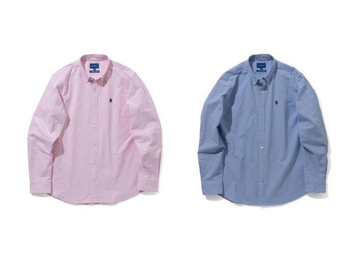 【BEAMS / MEN/ビームス】のストレッチ オックスフォード ワンポイント ボタンダウンシャツ 【MEN】おすすめ!人気トレンド・男性、メンズファッションの通販 おすすめ人気トレンドファッション通販アイテム 人気、トレンドファッション・服の通販 founy(ファニー)  ファッション Fashion メンズファッション MEN トップス カットソー Tops Tshirt Men シャツ Shirts インナー カーディガン ジャケット ストレッチ スリム フィット ブルゾン ワンポイント 定番 Standard |ID:crp329100000023063