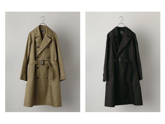 【SHIPS / MEN/シップス】の【WEB限定】SHIPS 耐久撥水 コットン トレンチコート 【MEN】おすすめ!人気トレンド・男性、メンズファッションの通販 おすすめファッション通販アイテム レディースファッション・服の通販 founy(ファニー) ファッション Fashion メンズファッション MEN NEW・新作・新着・新入荷 New Arrivals クラシック ショルダー シンプル ジャケット スリーブ モダン リラックス 再入荷 Restock/Back in Stock/Re Arrival |ID:crp329100000023071