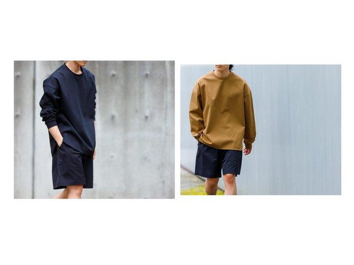 【ADAM ET ROPE' / MEN/アダムエロペ 】のポンチドロップショルダーS TEE 【MEN】おすすめ!人気トレンド・男性、メンズファッションの通販 おすすめファッション通販アイテム レディースファッション・服の通販 founy(ファニー)  ファッション Fashion メンズファッション MEN トップス カットソー Tops Tshirt Men シャツ Shirts インナー カットソー ショルダー シンプル ストレッチ スラックス デニム ドロップ フィット ラウンド リラックス ワイド 冬 Winter |ID:crp329100000023080