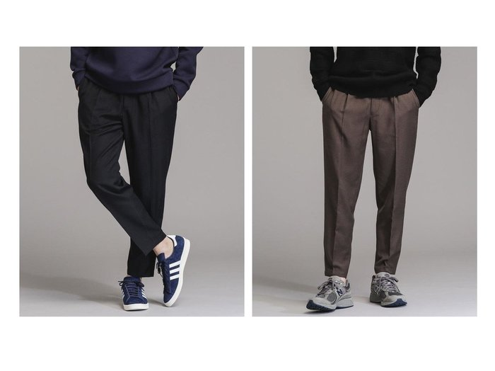 【nano universe / MEN/ナノ ユニバース】のTWツイルイージースラックス 【MEN】おすすめ!人気トレンド・男性、メンズファッションの通販 おすすめファッション通販アイテム レディースファッション・服の通販 founy(ファニー) ファッション Fashion メンズファッション MEN ボトムス Bottoms Men シャーリング ジャケット スラックス パーカー リラックス |ID:crp329100000023095