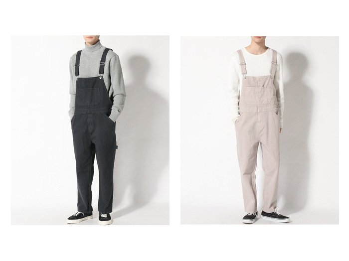 【LAKOLE / MEN/ラコレ】のツイルオーバーオール 【MEN】おすすめ!人気トレンド・男性、メンズファッションの通販 おすすめ人気トレンドファッション通販アイテム 人気、トレンドファッション・服の通販 founy(ファニー)  ファッション Fashion メンズファッション MEN ボトムス Bottoms Men NEW・新作・新着・新入荷 New Arrivals おすすめ Recommend サロペット ジーンズ スエード セットアップ ワイド 人気 今季 |ID:crp329100000023100