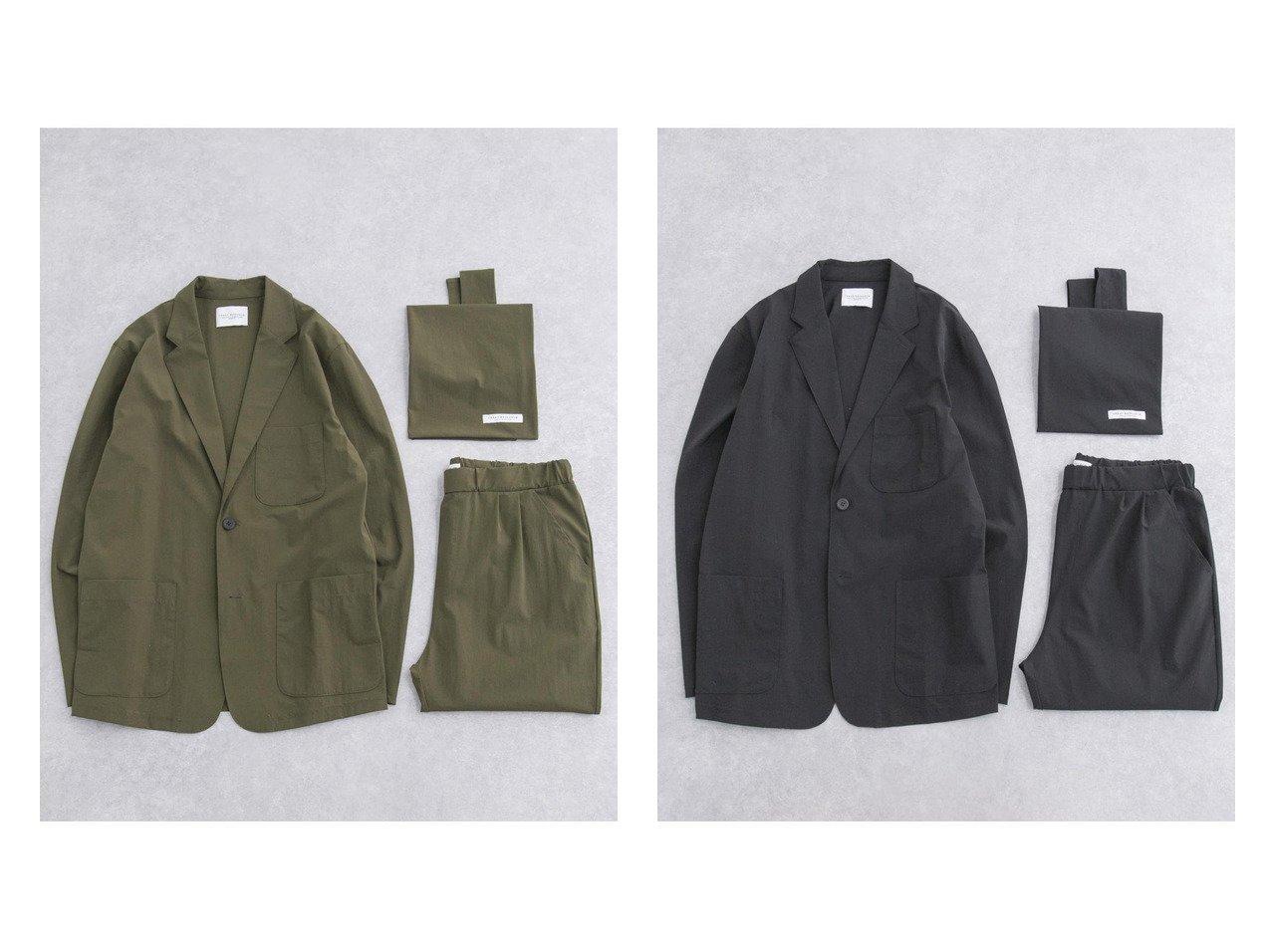 【URBAN RESEARCH / MEN/アーバンリサーチ】の360°STRETCH SET UP PACK 【MEN】おすすめ!人気トレンド・男性、メンズファッションの通販 おすすめで人気の流行・トレンド、ファッションの通販商品 メンズファッション・キッズファッション・インテリア・家具・レディースファッション・服の通販 founy(ファニー) https://founy.com/ ファッション Fashion メンズファッション MEN セットアップ Setup Men 2021年 2021 2021 春夏 S/S SS Spring/Summer 2021 S/S 春夏 SS Spring/Summer コンパクト ジャケット ストレッチ スーツ セットアップ フォーマル ポケット  ID:crp329100000023107