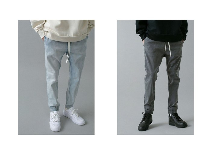 【MONKEY TIME / MEN/モンキータイム】のデニムジョガーパンツ 【MEN】おすすめ!人気トレンド・男性、メンズファッションの通販 おすすめファッション通販アイテム レディースファッション・服の通販 founy(ファニー) ファッション Fashion メンズファッション MEN ボトムス Bottoms Men デニムパンツ Denim Pants NEW・新作・新着・新入荷 New Arrivals デニム 定番 Standard  ID:crp329100000023123