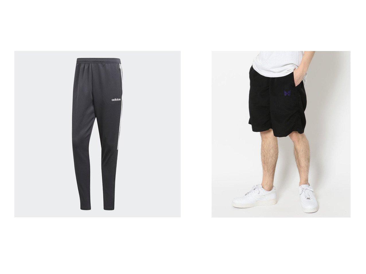 【B'2nd / MEN/ビーセカンド】のNEEDLES(ニードルズ) BASKETBALL SHORT-POLYCLOTH&【adidas / MEN/アディダス】のセレーノ19 トレーニングパンツ Sereno 19 Training Pants 【MEN】おすすめ!人気トレンド・男性、メンズファッションの通販 おすすめで人気の流行・トレンド、ファッションの通販商品 メンズファッション・キッズファッション・インテリア・家具・レディースファッション・服の通販 founy(ファニー) https://founy.com/ ファッション Fashion メンズファッション MEN ボトムス Bottoms Men スポーツ スリム ダブル ドローコード フィット リラックス ショート スポーティ フロント 再入荷 Restock/Back in Stock/Re Arrival |ID:crp329100000023124