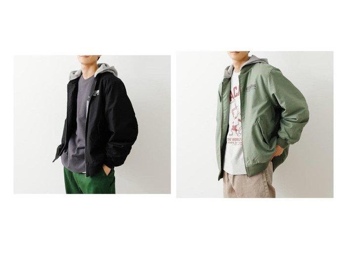 【RODEO CROWNS WIDE BOWL / MEN/ロデオクラウンズワイドボウル】のメンズフーデットビックブルゾン 【MEN】おすすめ!人気トレンド・男性、メンズファッションの通販 おすすめ人気トレンドファッション通販アイテム 人気、トレンドファッション・服の通販 founy(ファニー)  ファッション Fashion メンズファッション MEN アウター Coats Outerwear Men ブルゾン Blouson Jackets ブルゾン プリント ラバー |ID:crp329100000023126