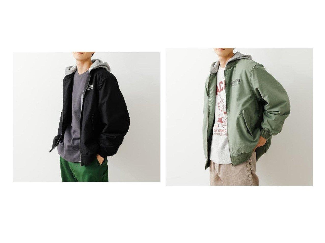 【RODEO CROWNS WIDE BOWL / MEN/ロデオクラウンズワイドボウル】のメンズフーデットビックブルゾン 【MEN】おすすめ!人気トレンド・男性、メンズファッションの通販 おすすめで人気の流行・トレンド、ファッションの通販商品 メンズファッション・キッズファッション・インテリア・家具・レディースファッション・服の通販 founy(ファニー) https://founy.com/ ファッション Fashion メンズファッション MEN アウター Coats Outerwear Men ブルゾン Blouson Jackets ブルゾン プリント ラバー |ID:crp329100000023126