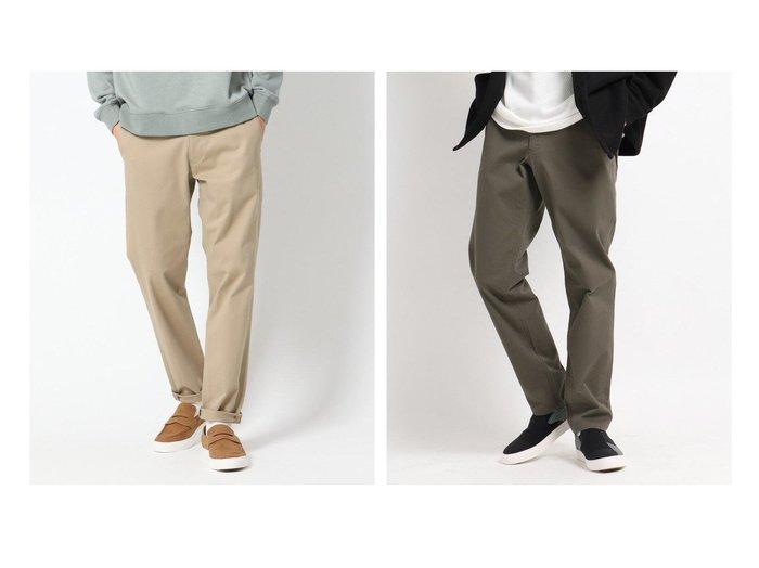 【THE SHOP TK / MEN/ザ ショップ ティーケー】の【履き心地もUP、毎日穿ける】2WAYストレッチパンツ 【MEN】おすすめ!人気トレンド・男性、メンズファッションの通販 おすすめファッション通販アイテム レディースファッション・服の通販 founy(ファニー) ファッション Fashion メンズファッション MEN ボトムス Bottoms Men ストレッチ ツイル ポケット 抗菌 洗える |ID:crp329100000023130