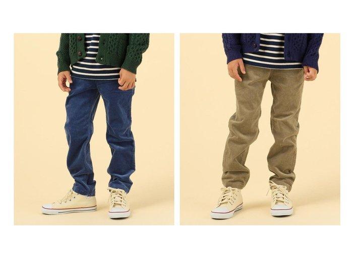 【SHIPS / KIDS/シップス】のSHIPS KIDS ストレッチ コーデュロイ パンツ(100~130cm) 【KIDS】子供服のおすすめ!人気トレンド・キッズファッションの通販 おすすめファッション通販アイテム レディースファッション・服の通販 founy(ファニー) ファッション Fashion キッズファッション KIDS ボトムス Bottoms Kids A/W 秋冬 AW Autumn/Winter / FW Fall-Winter コイン コーデュロイ ストレッチ バランス ポケット 再入荷 Restock/Back in Stock/Re Arrival 定番 Standard |ID:crp329100000023177