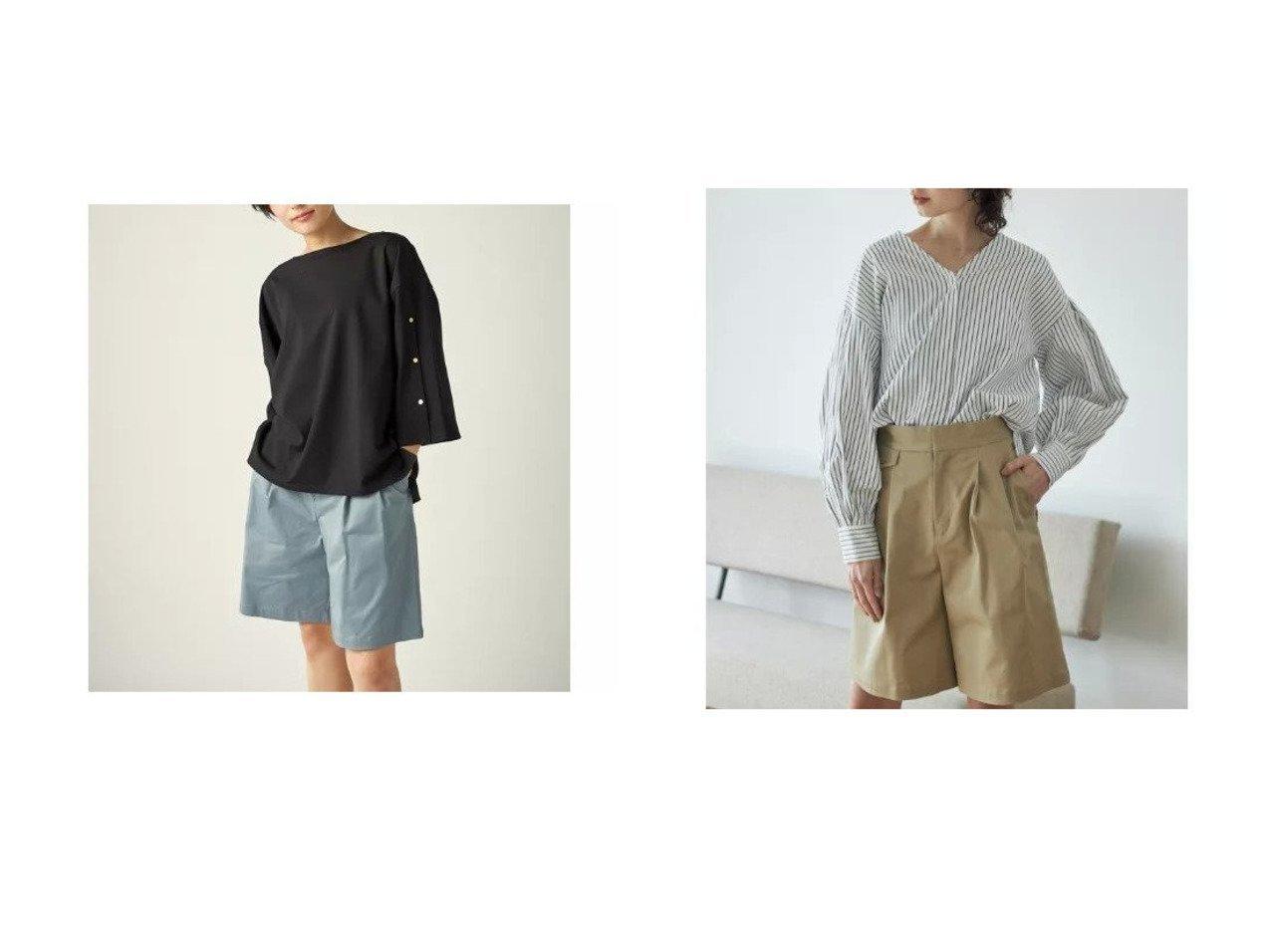 【CLEAR IMPRESSION/クリアインプレッション】の《musee》コットンツイルショートパンツ パンツのおすすめ!人気、トレンド・レディースファッションの通販 おすすめで人気の流行・トレンド、ファッションの通販商品 メンズファッション・キッズファッション・インテリア・家具・レディースファッション・服の通販 founy(ファニー) https://founy.com/ ファッション Fashion レディースファッション WOMEN パンツ Pants ハーフ / ショートパンツ Short Pants カッティング ショート ベーシック ポケット |ID:crp329100000023226