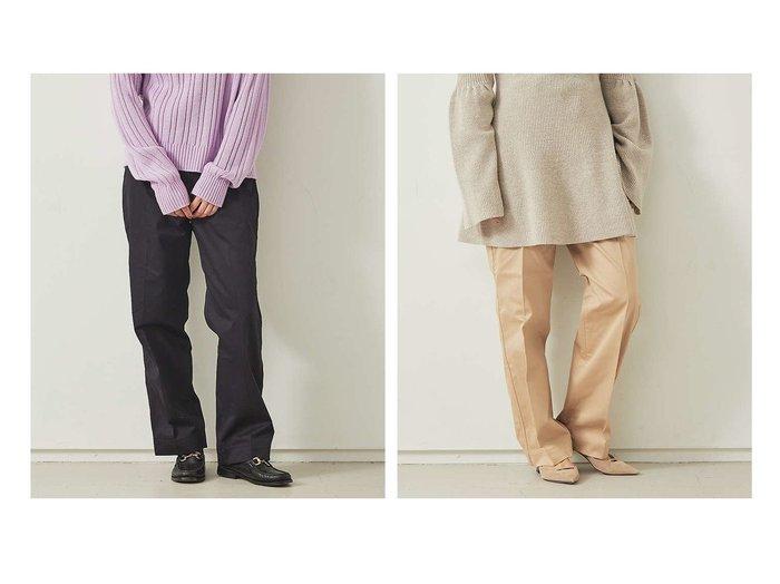 【Rouge vif la cle/ルージュヴィフラクレ】の【BARNSTORMER】ハイウエストチノパンツ MARTHA パンツのおすすめ!人気、トレンド・レディースファッションの通販 おすすめファッション通販アイテム インテリア・キッズ・メンズ・レディースファッション・服の通販 founy(ファニー) https://founy.com/ ファッション Fashion レディースファッション WOMEN パンツ Pants おすすめ Recommend ボトム 人気 定番 Standard |ID:crp329100000023241
