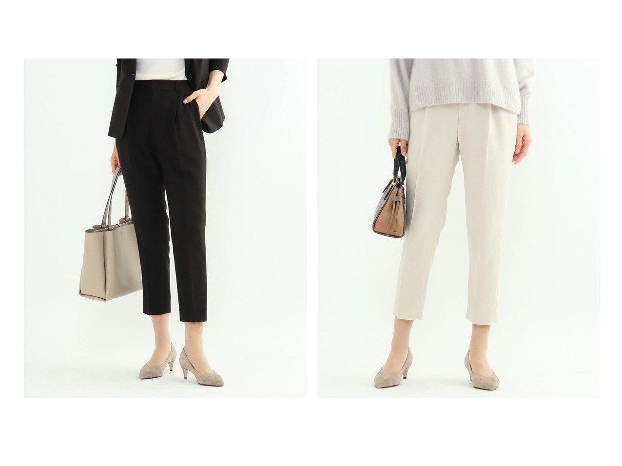 【INDIVI/インディヴィ】のエレコフツイルテーパードパンツ パンツのおすすめ!人気、トレンド・レディースファッションの通販 おすすめで人気の流行・トレンド、ファッションの通販商品 メンズファッション・キッズファッション・インテリア・家具・レディースファッション・服の通販 founy(ファニー) https://founy.com/ ファッション Fashion レディースファッション WOMEN パンツ Pants スーツ Suits スーツパンツ Pantsuit ストレッチ スーツ センター フィット フォーマル ポケット 再入荷 Restock/Back in Stock/Re Arrival 吸水 |ID:crp329100000023250