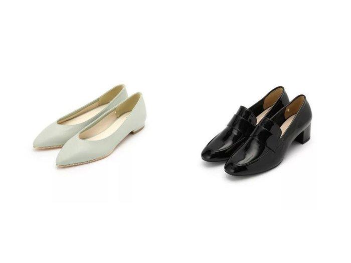 【INDEX/インデックス】のヒールローファー&メタルピースフラットパンプス シューズ・靴のおすすめ!人気、トレンド・レディースファッションの通販 おすすめファッション通販アイテム インテリア・キッズ・メンズ・レディースファッション・服の通販 founy(ファニー) https://founy.com/ ファッション Fashion レディースファッション WOMEN アーモンドトゥ シューズ シンプル ジャージ フラット メタル 抗菌 エナメル クラシック |ID:crp329100000023332