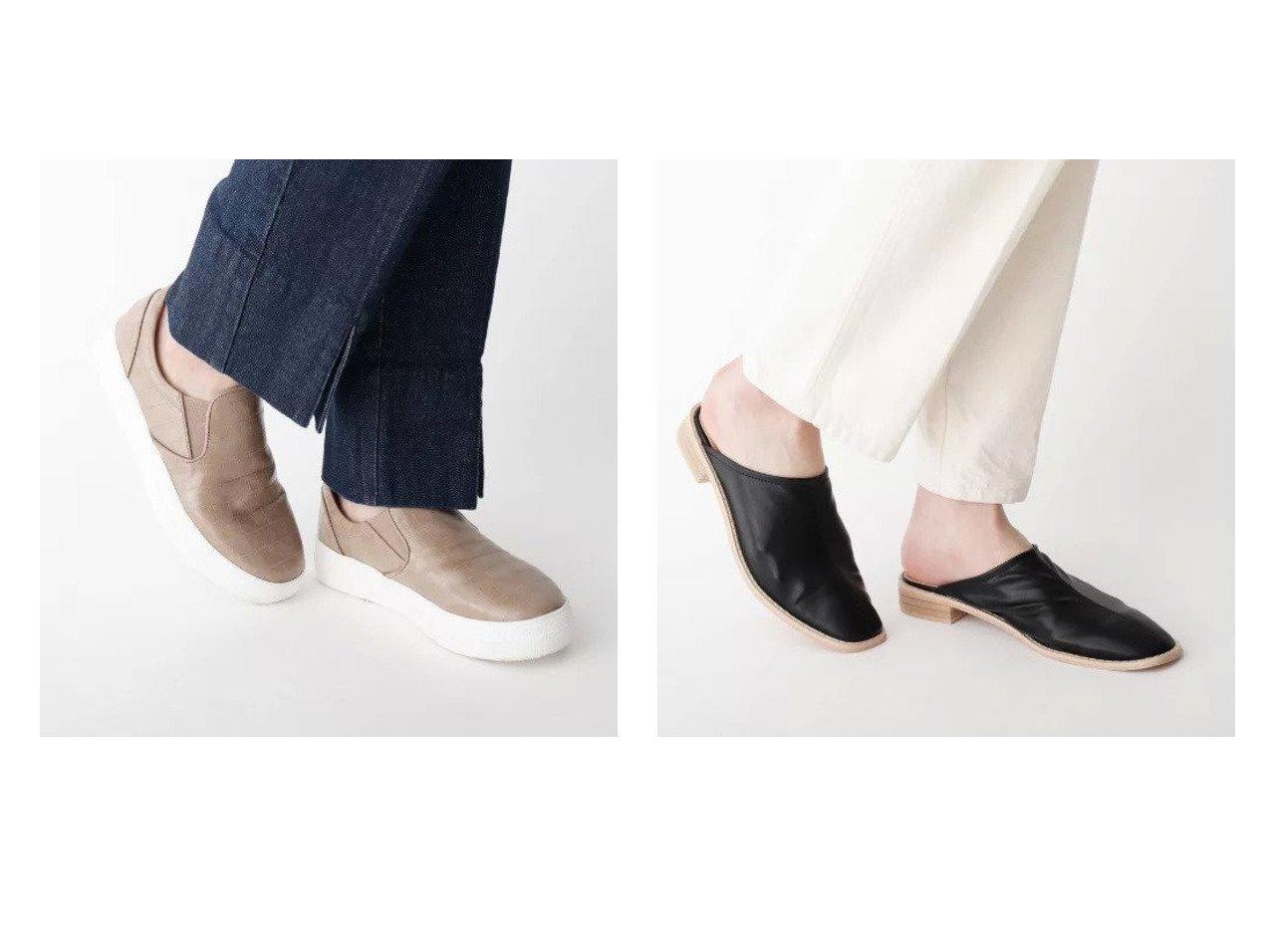 【OPAQUE.CLIP/オペークドットクリップ】のクロコ調合皮スリッポン&ソフト合皮ミュール シューズ・靴のおすすめ!人気、トレンド・レディースファッションの通販 おすすめで人気の流行・トレンド、ファッションの通販商品 メンズファッション・キッズファッション・インテリア・家具・レディースファッション・服の通販 founy(ファニー) https://founy.com/ ファッション Fashion レディースファッション WOMEN クロコ シューズ シンプル ジャージ スニーカー スリッポン サンダル スリッパ ミュール |ID:crp329100000023352